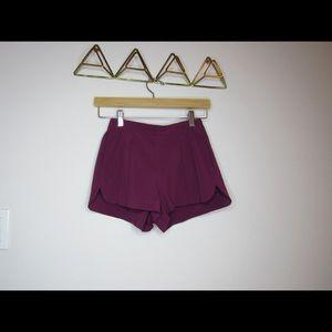Lululemon sporty casual shorts